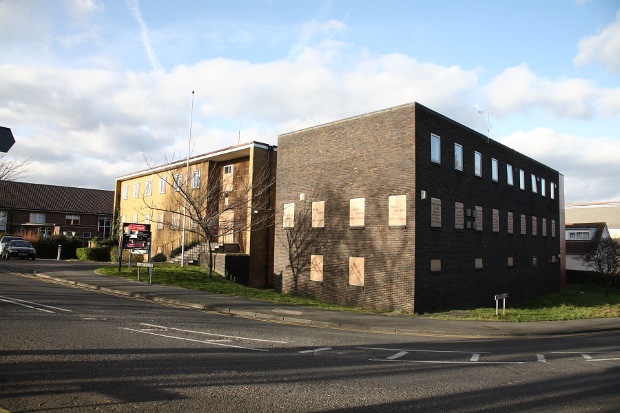Old Rainham Police station 2008